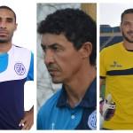 Betinho, João Paulo e Rafael Sandes na seleção da rodada da Série C